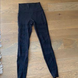 Lululemon mesh leggings full length